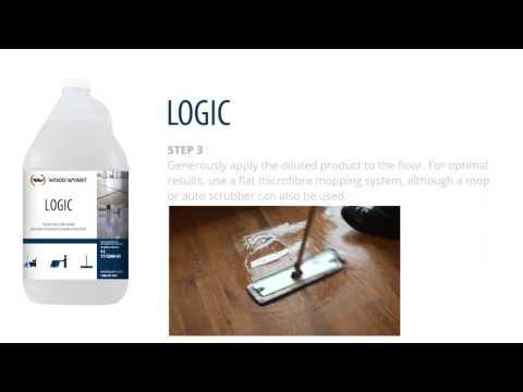 Logic, Floor cleaner for laminate, vinyl, tile and wood