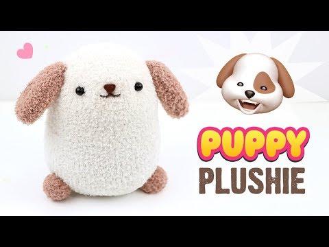 DIY Dog Plushie!! EASY Puppy Sock Plush Tutorial! Fun Budget Crafts