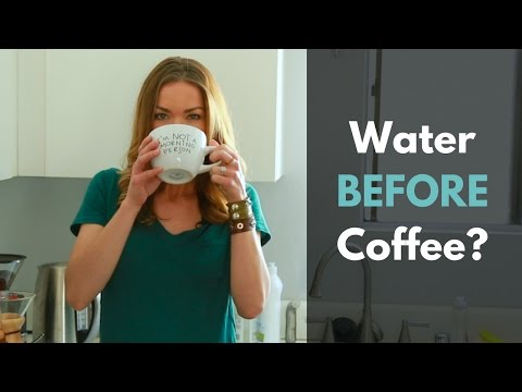 Water Before Coffee When You Wake Up?