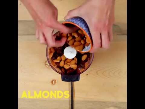 How to Make 3-Ingredient Almond Energy Bars | California Almonds UK