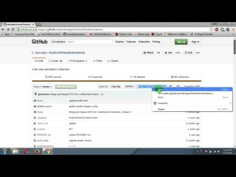 How to clone github project to local computer