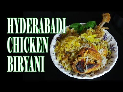 HYDERABADI CHICKEN BIRYANI IN TAMIL - by selvakumar