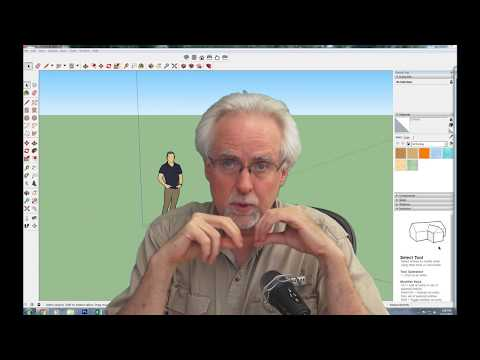 Sketchup Tutorial LESSON 2: Simple Introduction to Sketchup 3D Objects