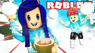 ROBLOX SNOWBALL FIGHTING SIMULATOR!