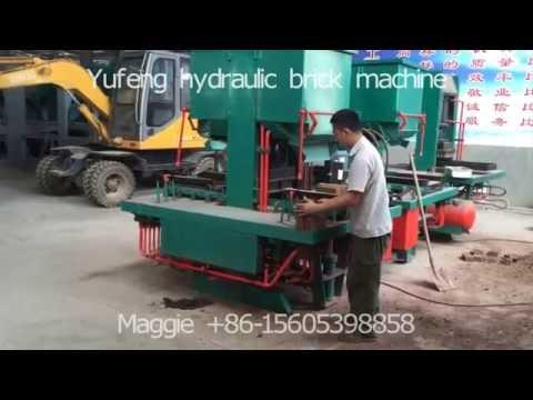 clay brick machine DMYF500 interlocking and paver brick machine