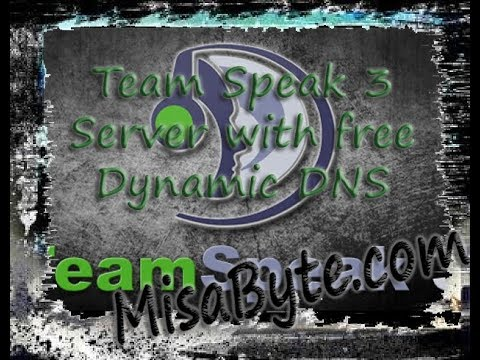How to create a 100% LEGAL TeamSpeak server with dynamic dns free