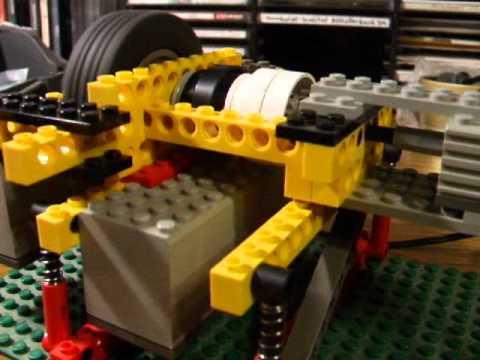 Re: Having Fun With My LEGO Technic Freewheel-Flywheel Unit : )