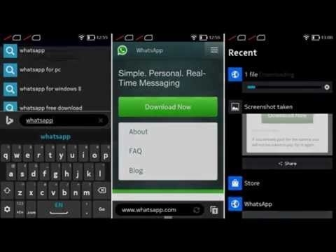 WhatsApp Messenger for Nokia X,XL - Obsolete version on 1mobile market