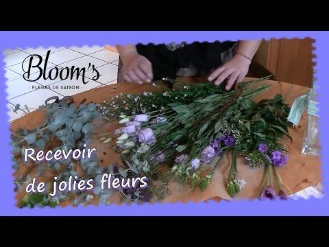 Recevoir des fleurs fraiches avec Bloom's  ...