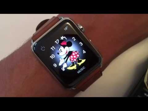 Apple WatchOS 3: Mickey & Minnie Mouse speaking the time!