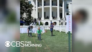 """Boy who inspired """"right to try"""" law attends White House Easter egg roll"""