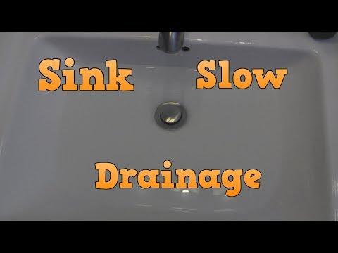 Slow Sink Drainage