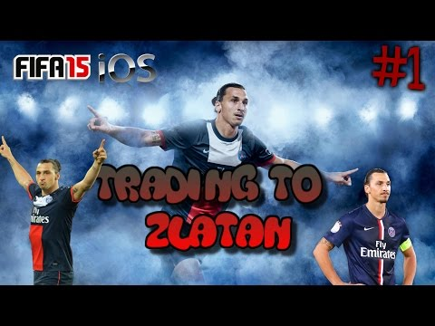 FIFA 15 IOS/ANDROID TRADING TO ZLATAN #1 - MAKING MONEY FOR DAYS!