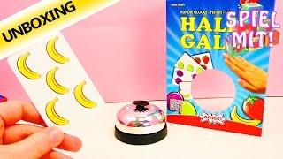 Halli Galli Spiel - Kartenspiel Klassiker für die ganze Familie | Unboxing