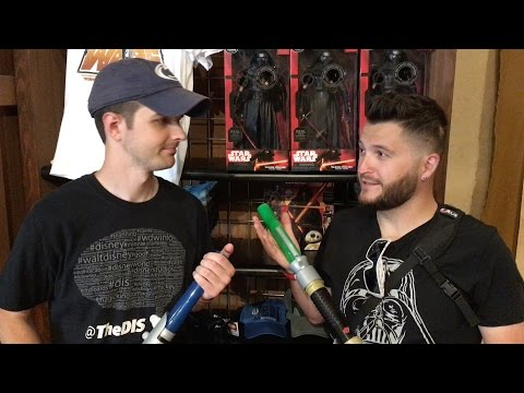 Steve & Ryno Build Lightsabers | Hollywood Studios