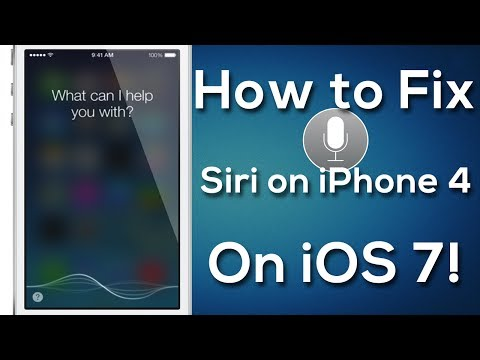How To Fix Siri On iOS 7 (Jailbreak Tweak) | for iPhone 4, iPod touch 4th gen, and iPad!