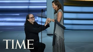 This Emmy Winner Proposed To His Girlfriend Onstage | TIME