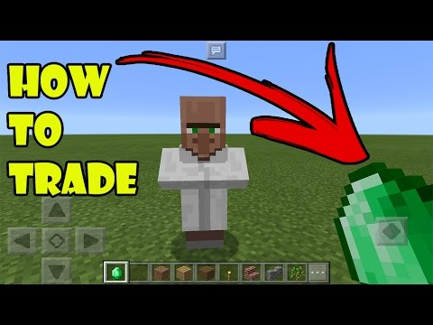 HOW TO TRADE | Minecraft 0.16.0 Villager Trading Add on