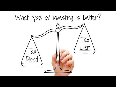 Why I like Tax Deed Investing Vs Tax Lien Investing