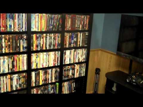 New DVD Shelf & Movie Collection