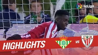 Resumen de Real Betis vs Athletic Club (1-0)