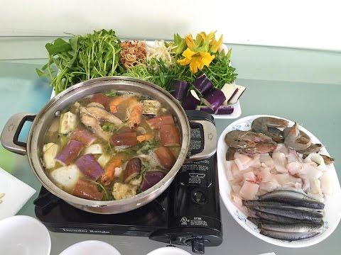 Lẩu mắm | Fermented fish hotpot