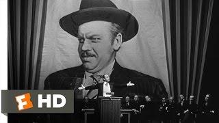 Citizen Kane - Campaign Promises Scene (5/10) | Movieclips