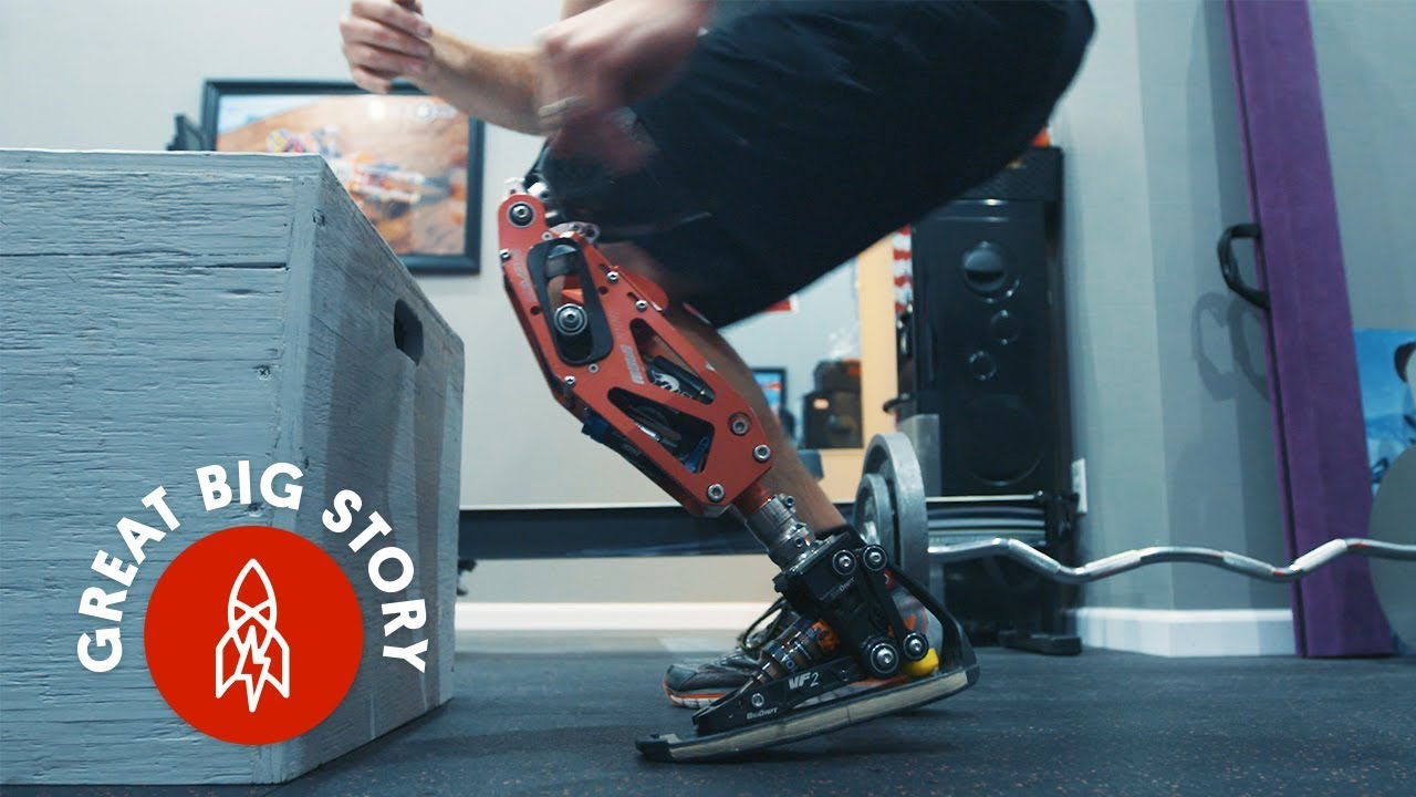 How This Action Sports Star Built His Own Prosthetic Leg
