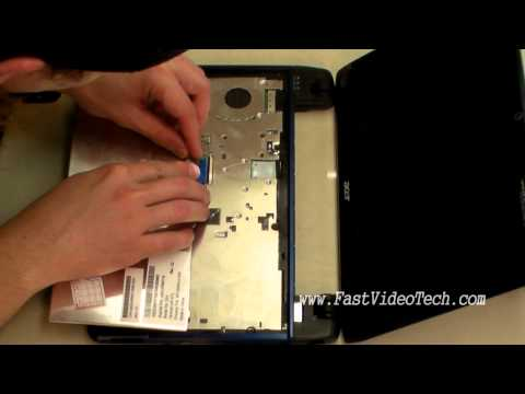 Acer Aspire Keyboard Removal