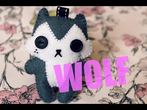 How to Make a Super Cute Wolf Plushie!