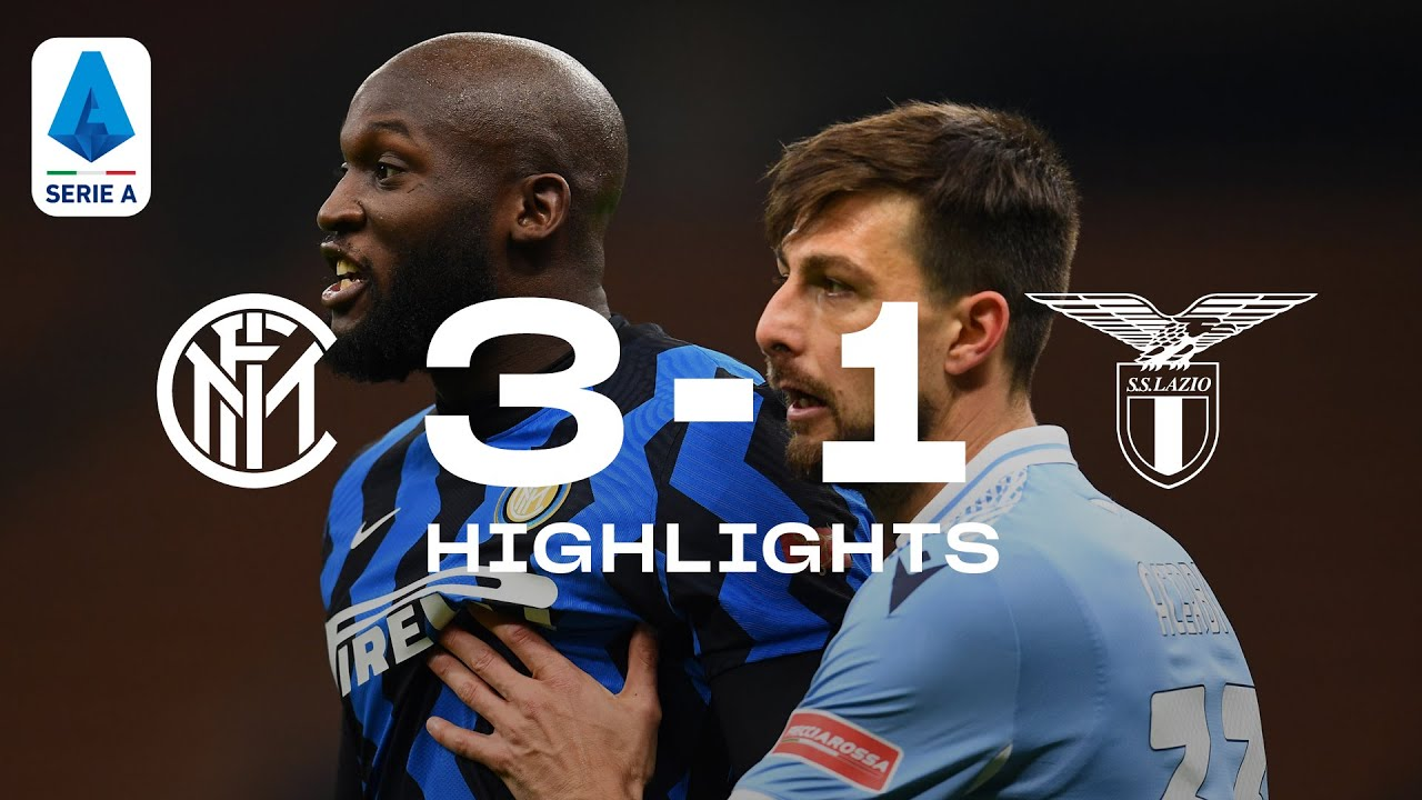 INTER 3-1 LAZIO | HIGHLIGHTS | SERIE A 20/21 | Lu-La on fire…once again! 🔥⚫🔵