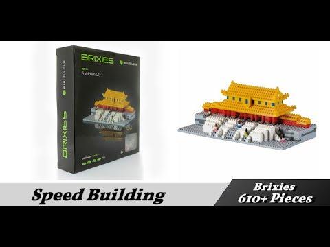 Brixies - Speed Build - Forbidden City  - 612 Pieces