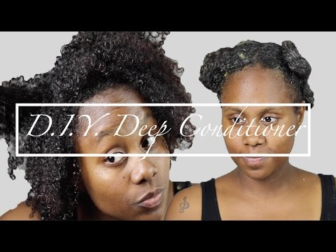 D I Y | Egg & Shea Butter Deep Conditioner | Shardel Haden