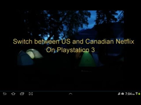 PS3 US netflix Canada Updated DNS Jan16/15