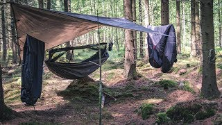 Solo Camping In The Woods