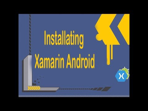 Installing Xamarin Android or studio
