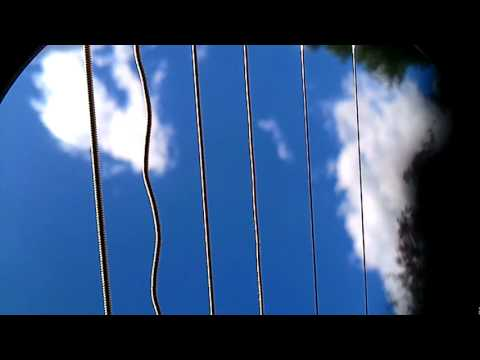 visualizing vibrations on singing strings