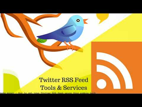 How to get your Twitter RSS feed using this simple hack