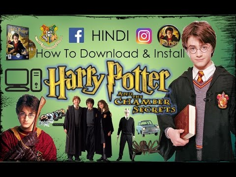 How To Download & Install Harry Potter And The Chamber Of Secrets In HINDI