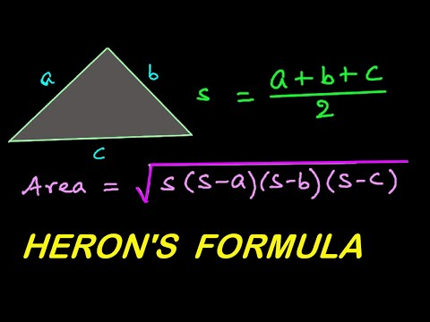 Find Area of Triangle Heron's Formula for SSC CGL | Mensuration in HINDI | हिंदी