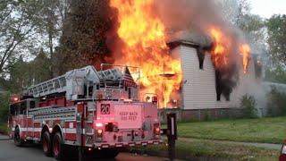 Chicago Fire Department   Fire Video   Fire Truck Videos 5-24-2015 2-11 ALARM