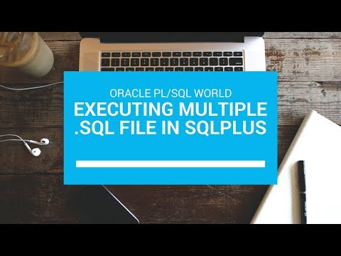 How to run Oracle Multiple .sql Script files using Single .sql file using sqlplus command line?