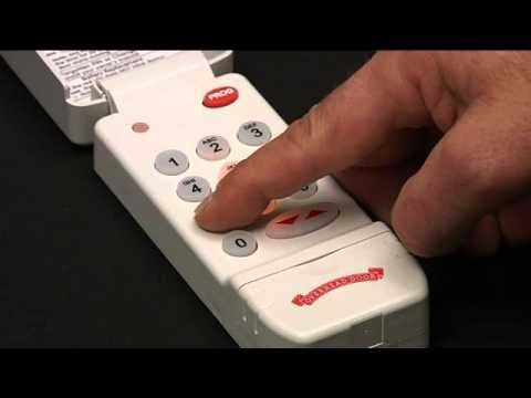 How to Program a Wireless Keypad to Garage Door Opener | CodeDodger® to Odyssey & Destiny