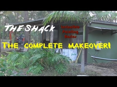 Complete Studio (shack) makeover. The heads up!! Subscribe now
