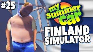 My Summer Car - Finland Simulator #25 - Pekka In Peace