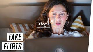 Undercover als Chatschreiberin: Falsche Flirts auf Dating-Plattformen | STRG_F