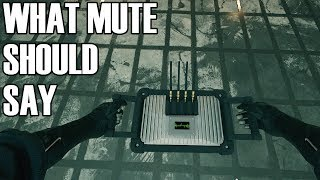 What Mute Should Say When Jamming - Rainbow Six Siege