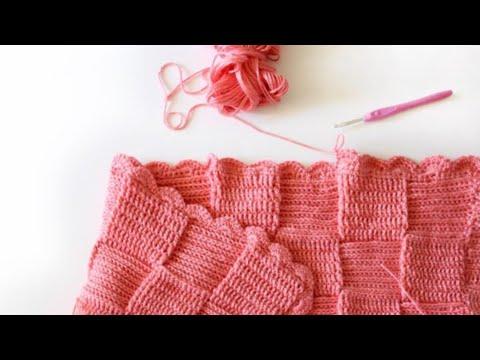 Crochet Shell Border