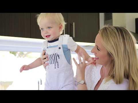 My Little Keepsake: Stylish Enamel Baby Hand & Footprints