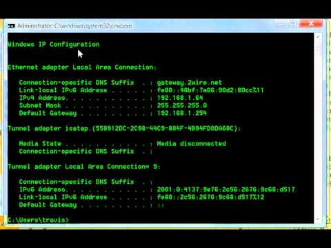 HOW TO RESET YOUR NETWORK WITH IPCONFIG (SETTING A NEW DHCP)